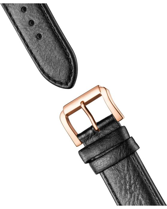 INGERSOLL Swing Automatic Black Leather Strap