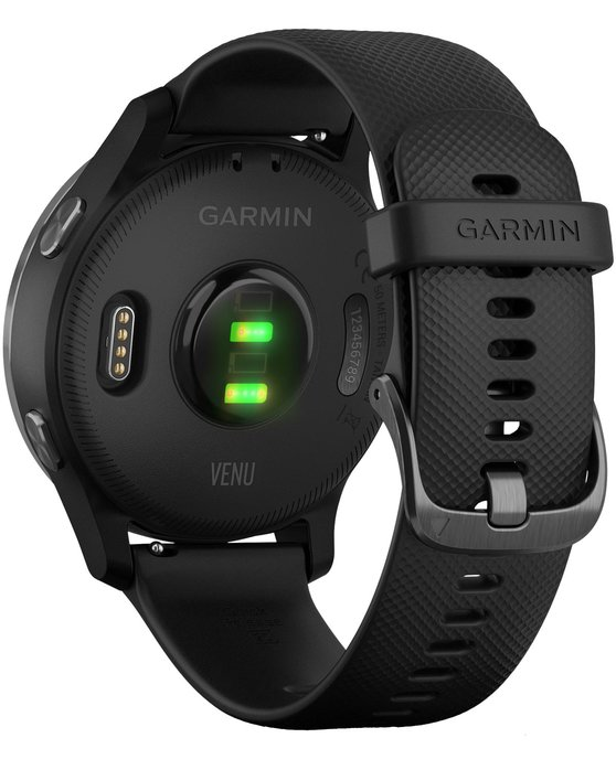 GARMIN Venu Black with Slate Hardware