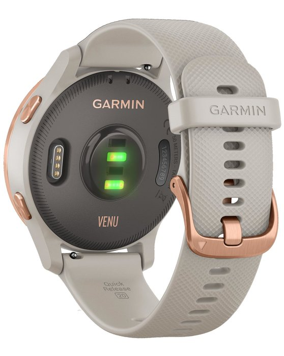 GARMIN Venu Light Sand with Rose Gold Hardware