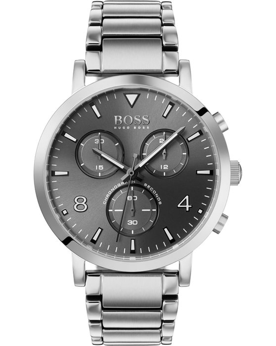 BOSS Contemporary Spirit Chronograph Silver Stainless Steel Bracelet