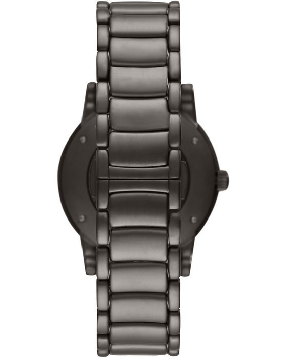 Emporio ARMANI Automatic Grey Stainless Steel Bracelet