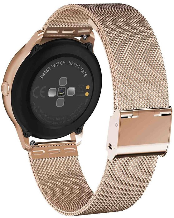 VOGUE Cosmic Smartwatch Rose Gold Stainless Steel Bracelet