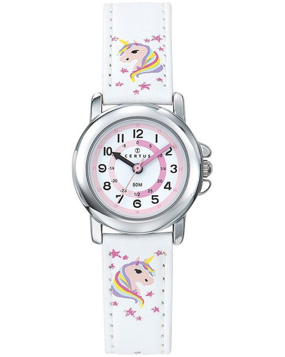 CERTUS Kids White Synthetic Strap