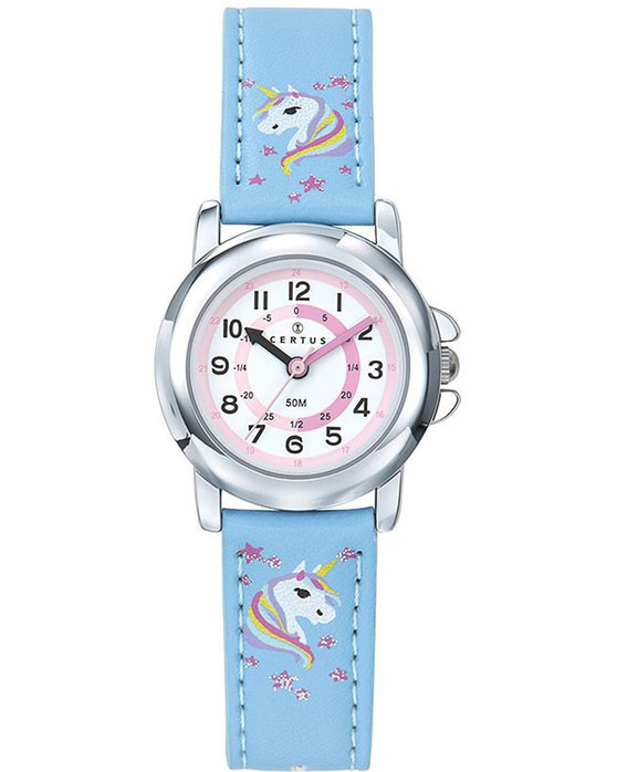 CERTUS Kids Light Blue Synthetic Strap