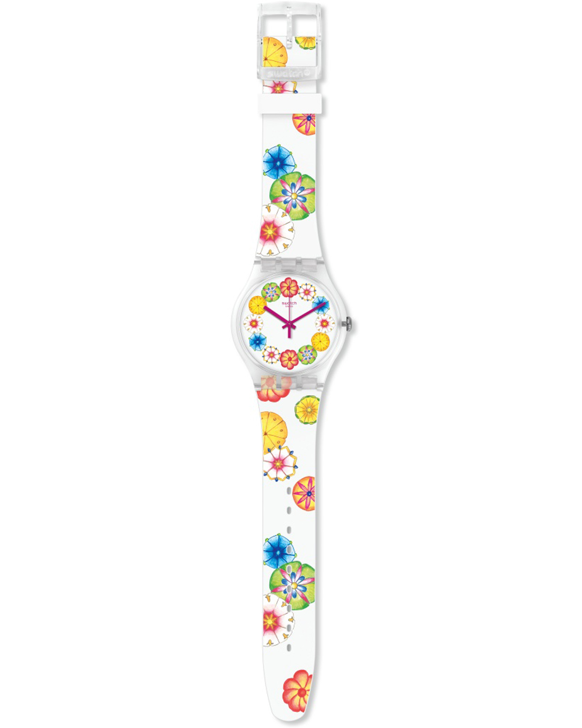 Ρολόι SWATCH Countryside Kumquat Multicolor Silicone Strap - SUOK127 ... d2cbba0d066